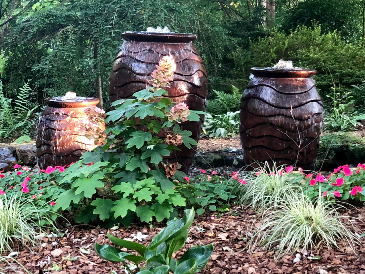 Aquascape Small Scalloped Urn Only 20 X 32 In Underwater Warehouse