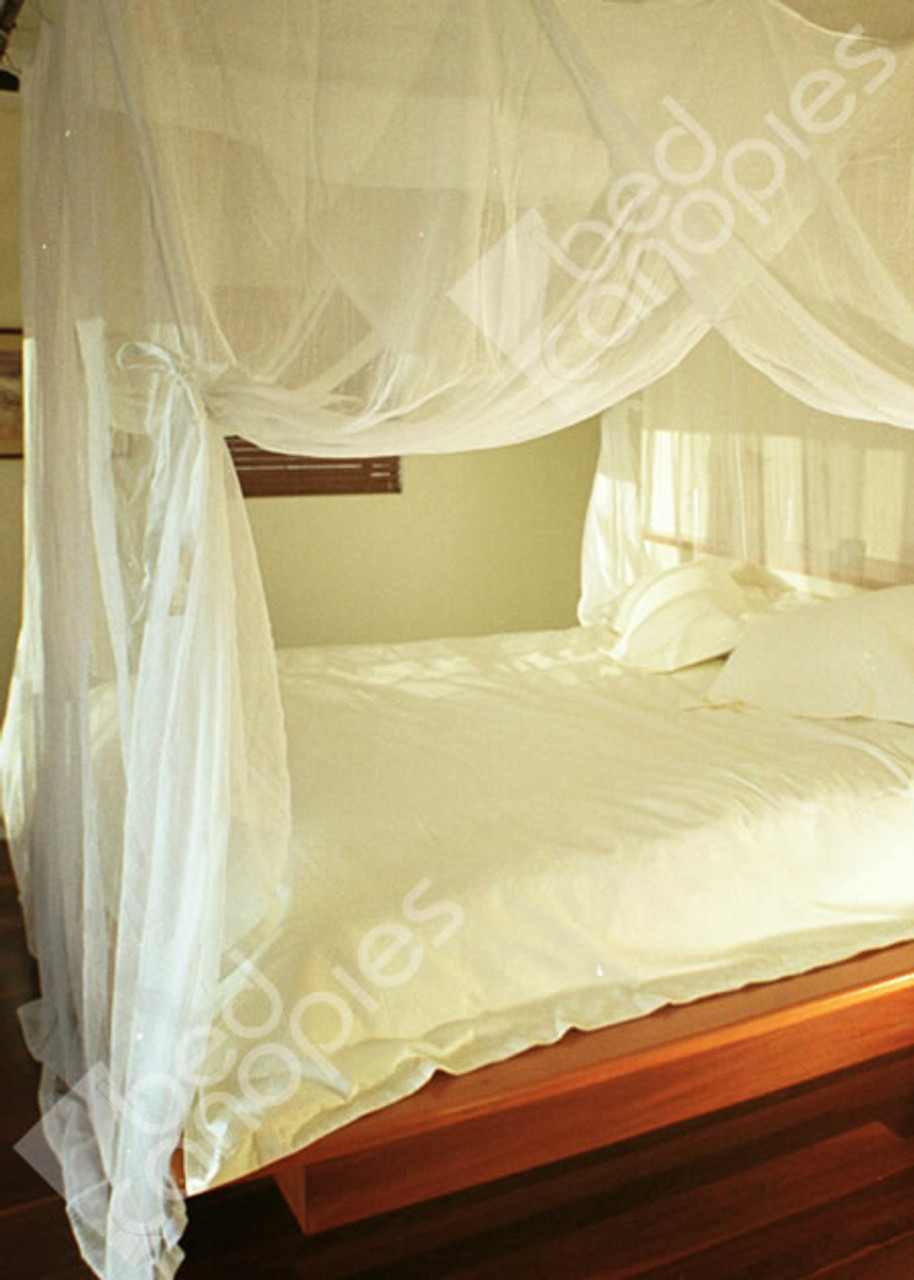 Canopy Bed Curtain. Cotton. Full/Double