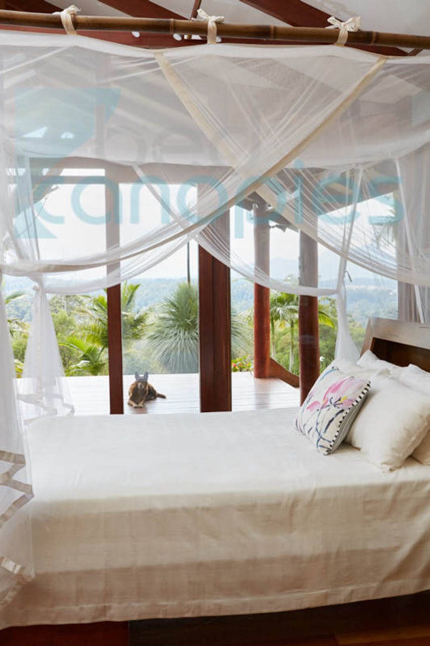 Canopy Bed Curtain. Twin/Single