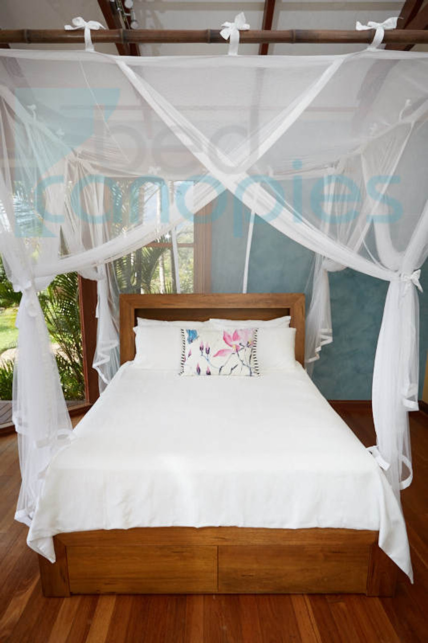 Canopy Bed Curtain. King/California King.