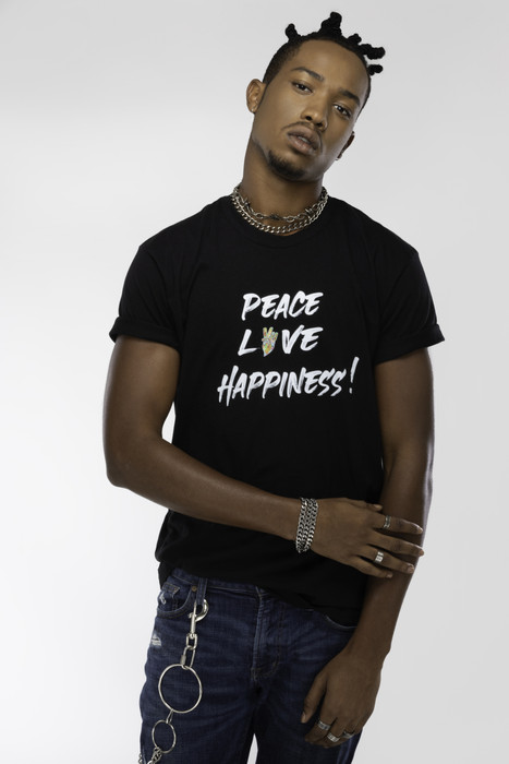 "Peace in ""love"" tee"