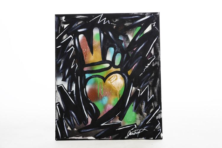 "Zig Zag Medium canvas  (20"" x 24"")"