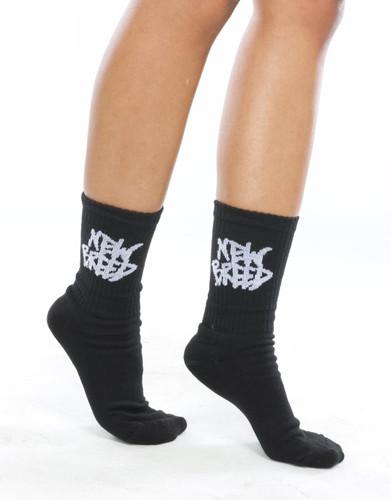 new breed black socks