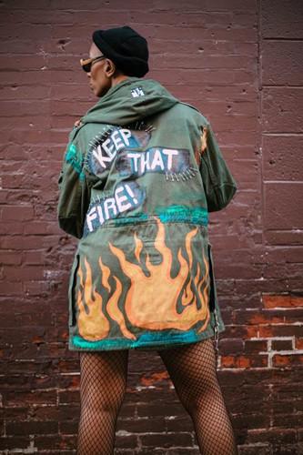 Keep that Fire Parka jacket