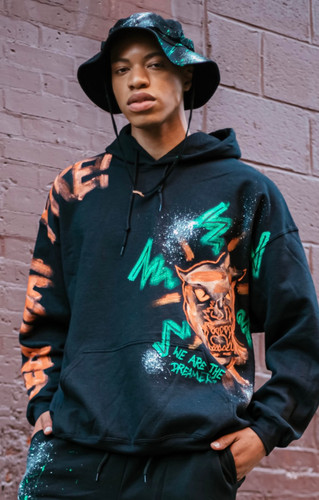 """""""Keep that fire"""" panther hoodie"""