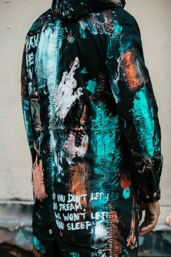 Royalty splash parka jacket