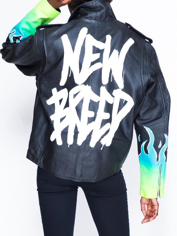 "NEW BREED ""SAUCE"" MOTO JACKET [UNISEX]"