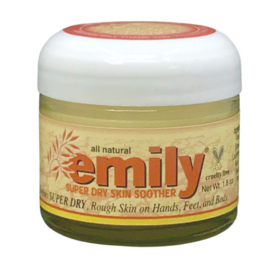A treatment for dry eczema by Emily Skin Soothers.