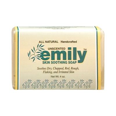 The best soap for eczema by Emily Skin Soothers.
