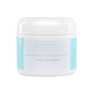 The Conqueror Eczema Balm has a unique 15-in-1 formula created to soothe and hydrate dry, itchy skin.
