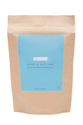 This oatmeal bath for eczema contains natural, nourishing ingredients to soothe your or your baby's eczema.