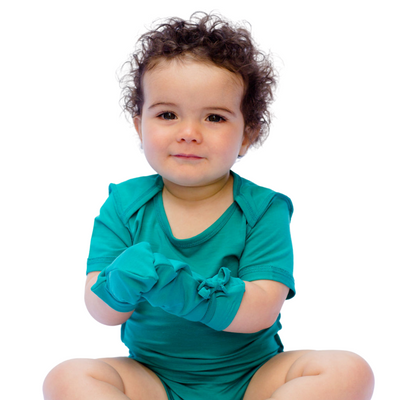 Remedywear eczema mittens for toddlers offer scratch protection and soothing comfort.