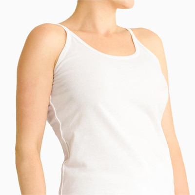 A 100% organic cotton camisole for women with allergies, eczema and psoriasis.
