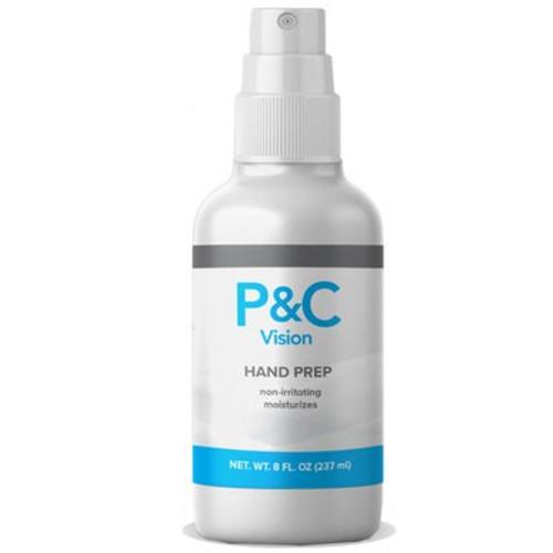 Hand Prep - 8 ounce spray bottles - (12 count box)