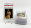 2007 TOPPS ROOKIE CARD #2 KEVIN DURANT RC PSA 9 BULK BUYS LOT OF 10