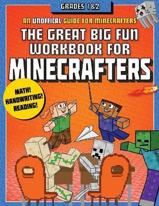 The Great Big Fun Workbook for Minecrafters: An Unofficial Workbook