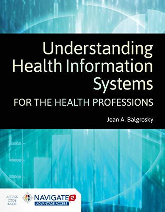 Understanding Health Information Systems for the Health Professions