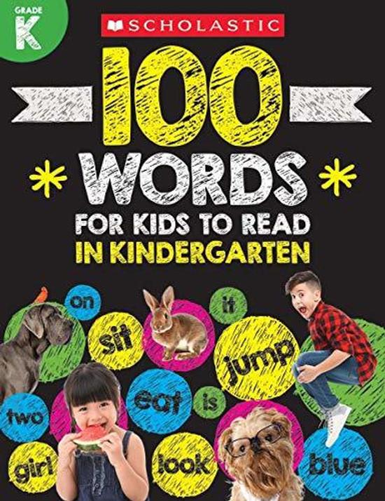 100 Words for Kids to Read in Kindergarten