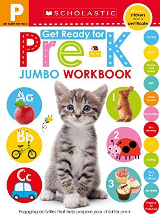 Giant Workbook: Get Ready for Pre-k