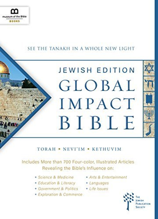Holy Bible: Global Impact Bible, Jps Tanakh Jewish Edition See the Bible in a Whole New Light