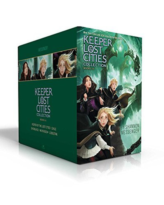 Keeper of the Lost Cities Collection: Keeper of the Lost Cities/Exile/Everblaze/Neverseen/Lodestar