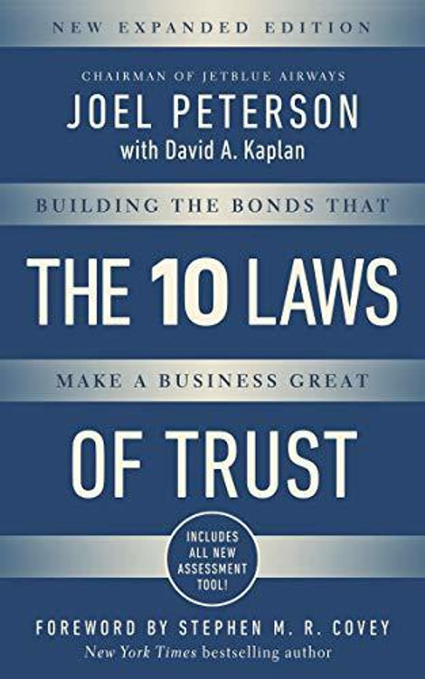 """10 Laws of Trust, Expanded Edition: """""""""""