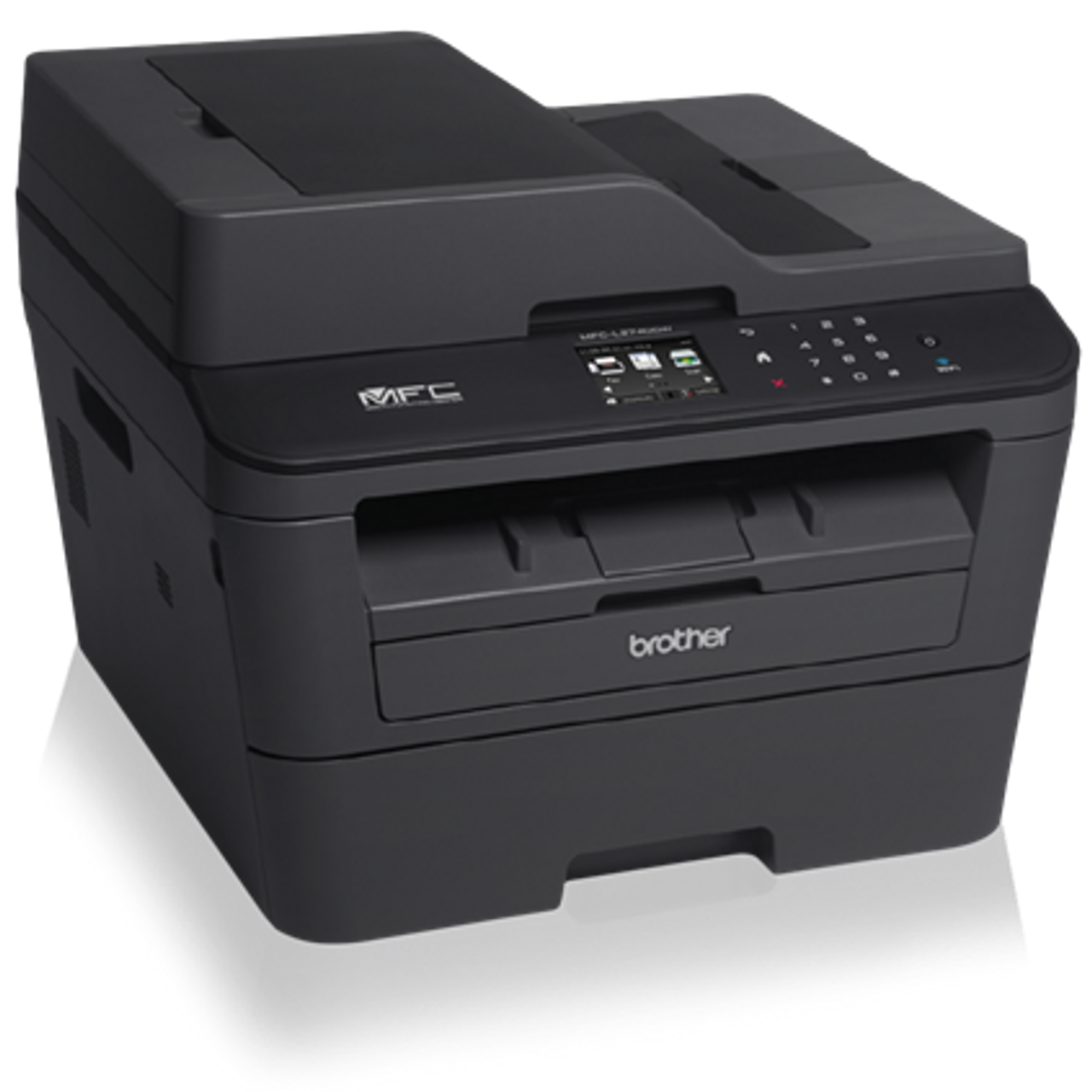 Refurbished Brother MFC-L2740DW Compact Laser All-in-One with Wireless Networking and Advanced Duplex