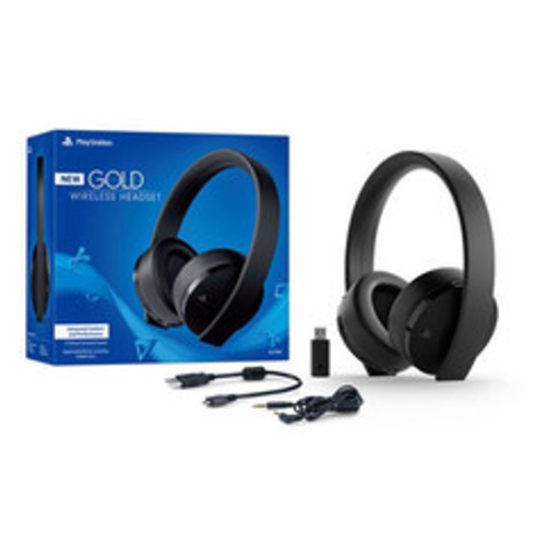 Sony Black Stereo, Wired/Wireless, Noise Cancelling gaming headset