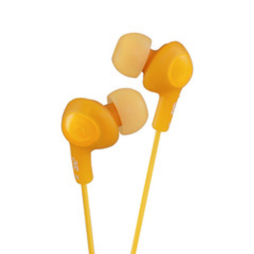 JVC Gumy Plus Inner-Ear Earbuds, Orange