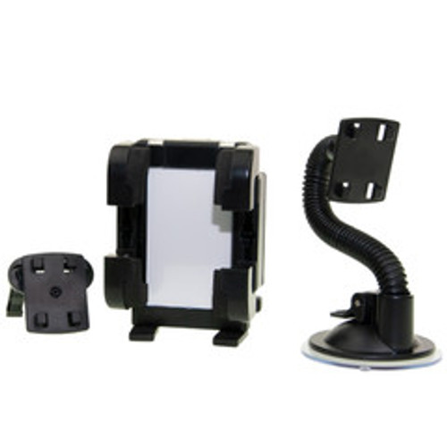 Universal Gooseneck-style dash/windshield/vent phone holder, with picture frame