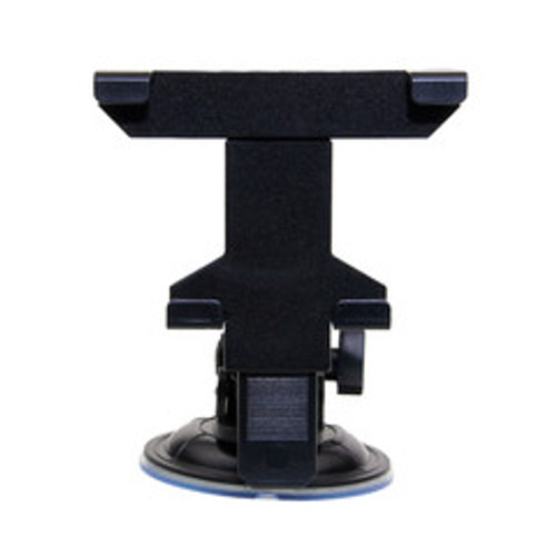 Universal windshield mount for mobile devices including tablets, suction cup mount