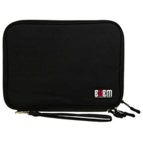 BUBM Double Layer Portable Electronics Organizer for Smart Phones, Tablets, and Portable Gaming Systems