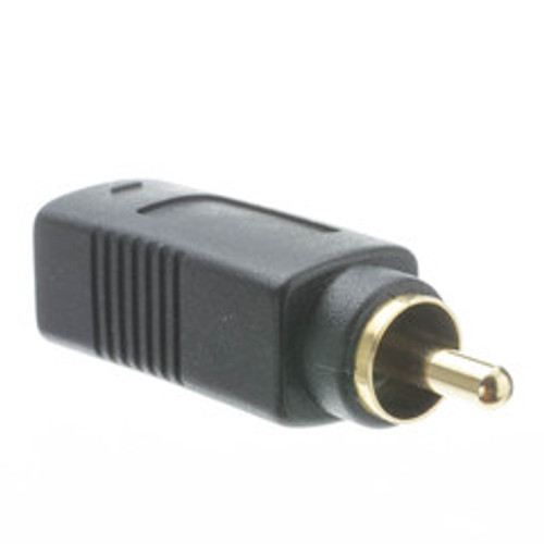 S Video to RCA Adapter, S-Video (MiniDin4) Female to RCA Male, Gold Connectors