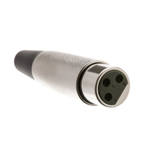 XLR Female Connector, Solder Type, 3 Conductor