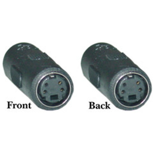 S-Video Coupler / Gender Changer, S-Video (MiniDin4) Female to S-Video (MiniDin4) Female