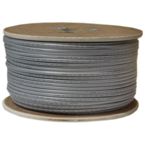 Bulk Phone Cord, Silver Satin, 28/6 (28 AWG 6 Conductor), Spool, 1000 foot