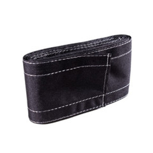 SafCord Carpet Cord Cover, 3 inch wide x 12 feet long(Case of 6), Black