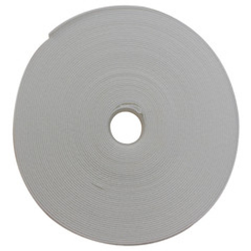 Hook and Loop Tape, 1/2 inch Wide, White, 50ft Roll