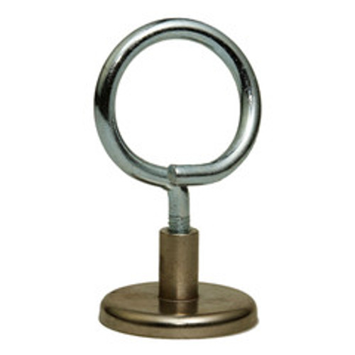 1.25 inch Magnetic Bridle Ring, 90 lbs pull strength, 1/4-20 threading, 10 pieces/bag