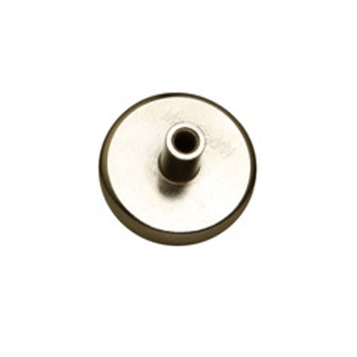 1/4-20 Threaded Female Magnet Mount, UL Listed, 90 lbs pull force, 10 pieces/bag