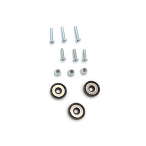 Magnetic Security Camera Mounting Kit, includes three 26 pound magnets and mounting hardware