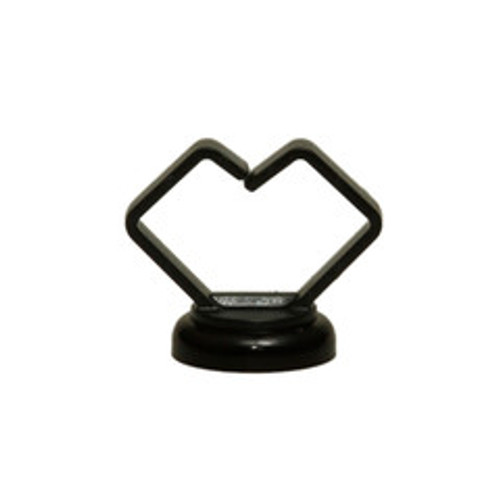 3/4 inch Black Magnetic Cable Holder, 10 pound pull force, Strong Polymer Cable Holder, Plenum Rated, UL Listed, 10 pieces/bag