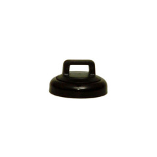 Small Black Magnetic Zip Tie Mount, 10 pound pull force, Plenum Rated, UL Listed, 10 pieces/bag
