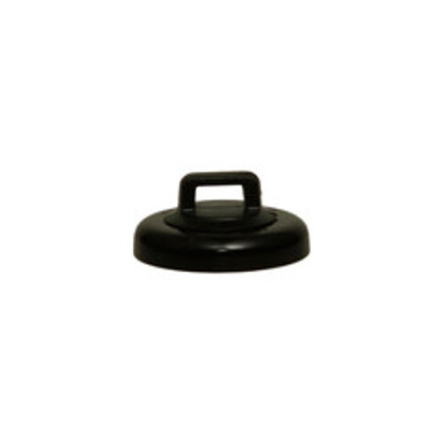 Large Black Magnetic Zip Tie Mount, 10 pound pull force, Plenum Rated, UL Listed, 10 pieces/bag