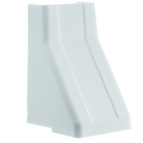 1.25 inch Surface Mount Cable Raceway, White, Ceiling Entry