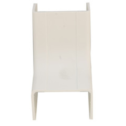 1.25 inch Surface Mount Cable Raceway, Ivory, Inside Corner/Base