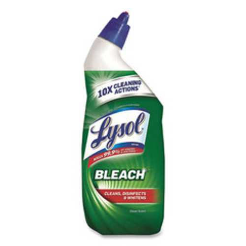 Case of 9 - Lysol Disinfectant Toilet Bowl Cleaner with Bleach, 24 oz