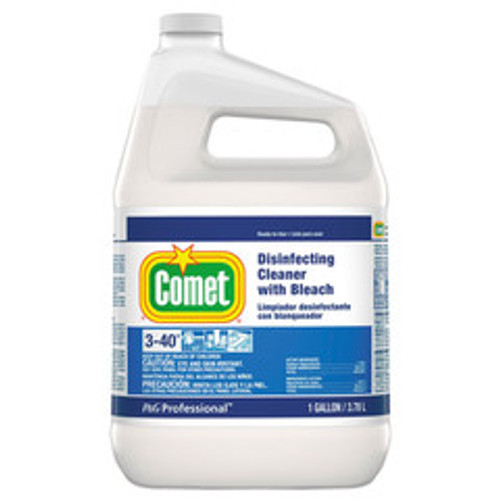 Comet Disinfecting Cleaner with Bleach, 1 gal Bottle