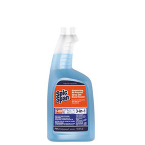 Spic-N-Span Disinfecting All-Purpose Cleaner, Fresh Scent, 32 oz Refill Bottle