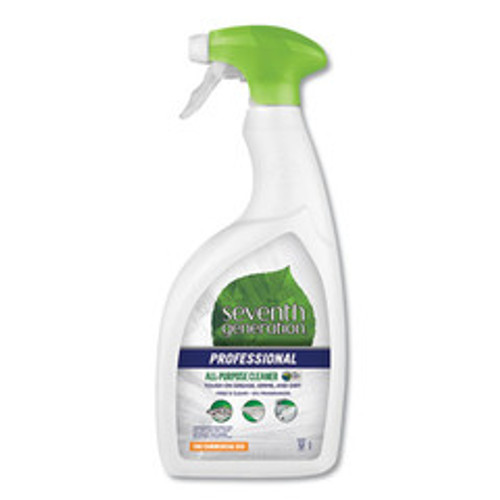Seventh Generation All-Purpose Cleaner, Free and Clear, 32 oz Spray Bottle